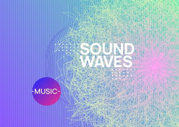 Nachtmusik. banner-layout der energieshow. dynamisch fließende form und linie. flyer nachtmusik. electro-dance-dj. elektronisches soundfest. techno-trance-party. plakat zur vereinsveranstaltung.