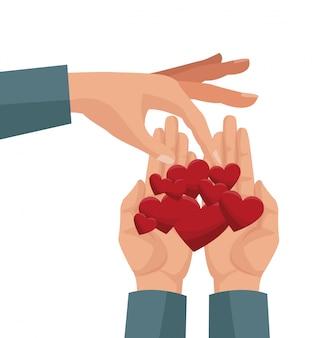 Nächstenliebe teilen und lieben