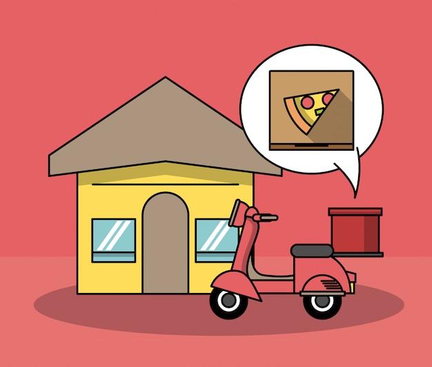 Nahrungsmittel und lieferung