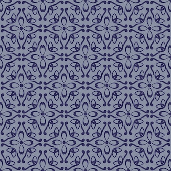 Nahtlose abstrakte geometrische blumenmuster.