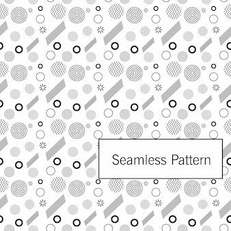 Nahtlose abstrakte musterförderung dynamische geometrische bewegungsformen. muster für cover-design, poster, banner, karte, gruß, geschäft, dekoration.