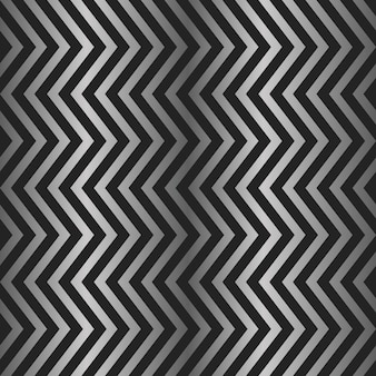 Nahtlose chevron-glänzende metallsilberfarbe