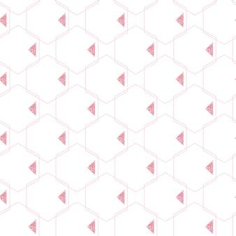 Nahtlose geometrie muster hintergrund