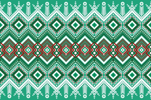 Nahtlose geometrische ethnische asiatische orientalische und traditionelle musterdesign für textur und hintergrund. seiden- und stoffmusterdekoration für teppiche, kleidung, verpackungen und weihnachtstapeten.