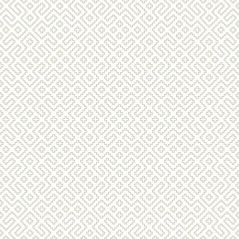 Nahtlose geometrische verzierung basierend auf traditioneller russischer stickkunst.