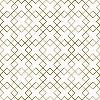 Nahtlose geometrische verzierung. braune farblinien. tolles design für stoff, textil, abdeckung, geschenkpapier, hintergrund. feine linien.