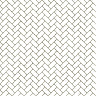 Nahtlose geometrische verzierung in brauner farbe.feine linien.