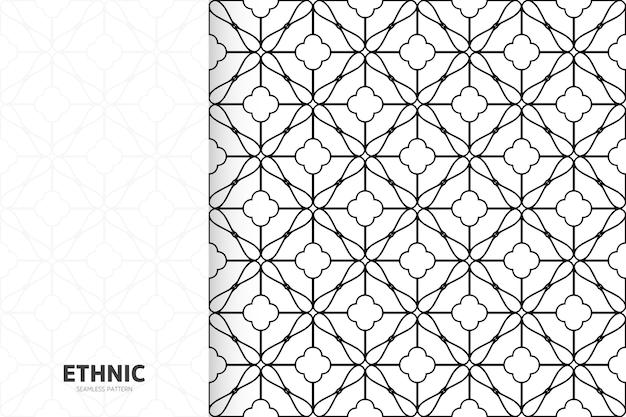 Nahtlose handbeschaffenheit des geometrischen entwurfs der stammesbeschaffenheit