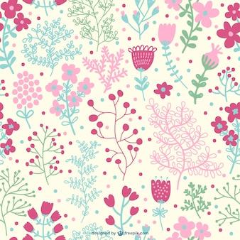 Nahtlose kostenlos floralen design