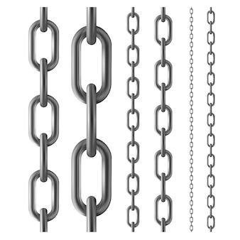 Nahtlose metallkette