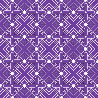 Nahtlose muster batik