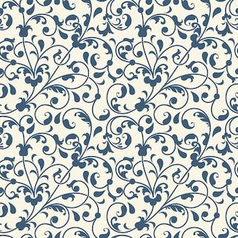 Nahtlose Muster Hintergrund Blume