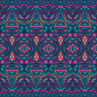 Nahtlose muster karneval ornament. festival dekorativer bunter vektorgeomertric-kunsthintergrund.