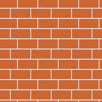Nahtlose musterbeschaffenheit einer backsteinmauer, maurerarbeit
