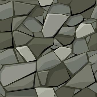 Nahtlose textur für pflasterstein und kopfsteinpflaster.