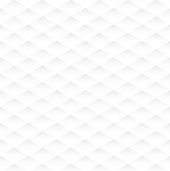 Nahtlose weiße textur der abstrakten raute, hintergrund