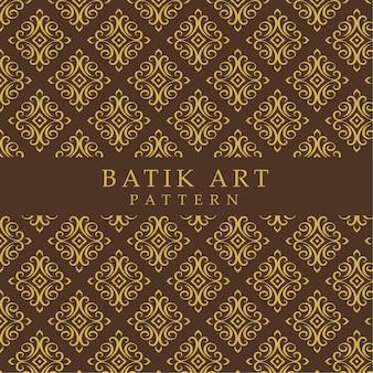 Nahtloser abstrakter hintergrund des batikmusters