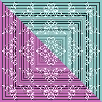 Nahtloser dreieckmuster-zusammenfassungshintergrund