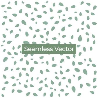 Nahtloser grüner musterhintergrund premium-vektor