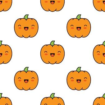 Nahtloser halloween-musterhintergrund