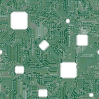 Nahtloser hintergrund der eps-motherboardzusammenfassung.