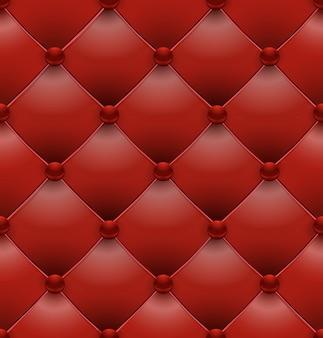 Nahtloser hintergrund der roten königlichen polsterung