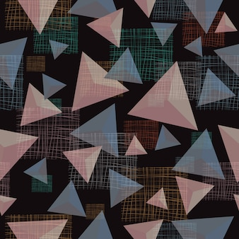 Nahtloser hintergrund des abstrakten geometrischen dreieckmusters