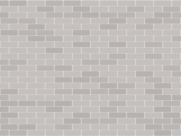 Nahtloser hintergrund des backsteinmauer-musters. realistischer dekorativer hintergrund.