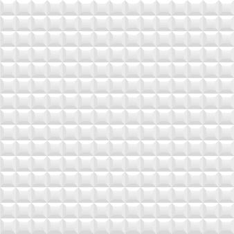 Nahtloser hintergrund des weißen quadrats