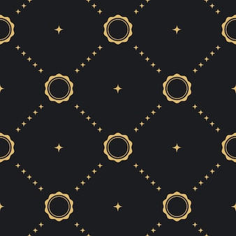 Nahtloser hintergrundstil des barock. tapete viktorianischen antiken textil,