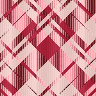 Nahtloser karierter musterhintergrund. stoff textur. vektor-illustration.