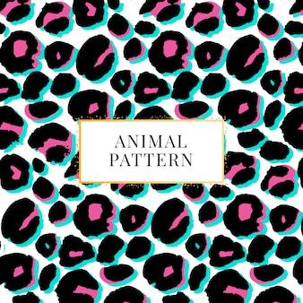 Nahtloser leopardenmusterdruck