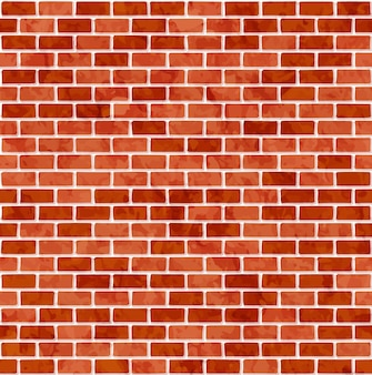Nahtloser musterhintergrund der backsteinmauer