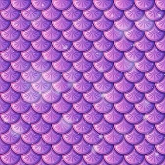 Nahtloser musterhintergrund der lila fischschuppe