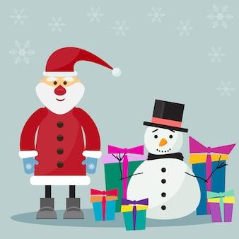 Nahtloser musterhintergrund des feiertags mit weihnachtskugeln und -schneeflocken