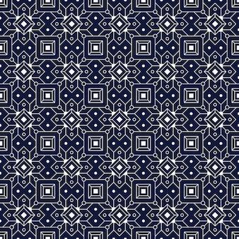 Nahtloser musterhintergrund des geometrischen batiks.