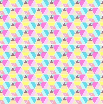 Nahtloser musterhintergrund des hexagons