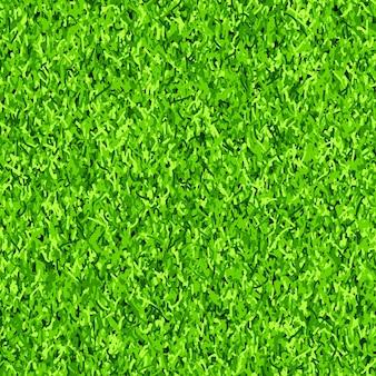 Nahtloser musterhintergrundvektor des grünen grases