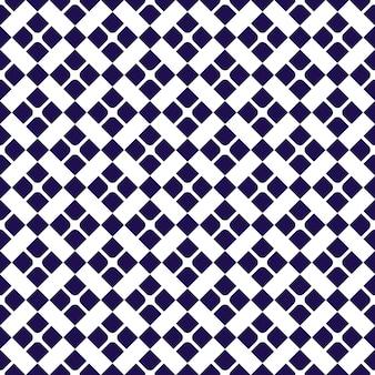 Nahtloser mustermusterhintergrund des geometrischen batiks. klassische stofftapete. elegante ethnische dekoration