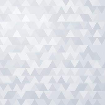 Nahtloser mustervektorhintergrund des grauen dreiecks
