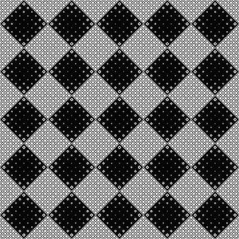 Nahtloser quadratischer musterhintergrund - abstraktes vektordesign