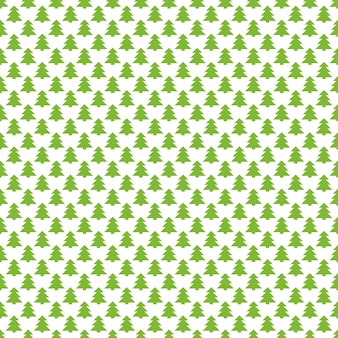 Nahtloser retro- stilisierter kieferwald-musterhintergrund
