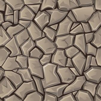 Nahtloser steinhintergrund
