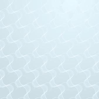 Nahtloses abstraktes wellenmuster auf einem hellblauen hintergrunddesign-ressourcenvektor