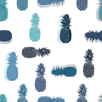 Nahtloses ananas-muster