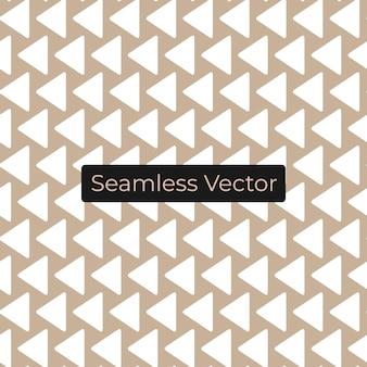 Nahtloses dreiecksmuster premium-vektor