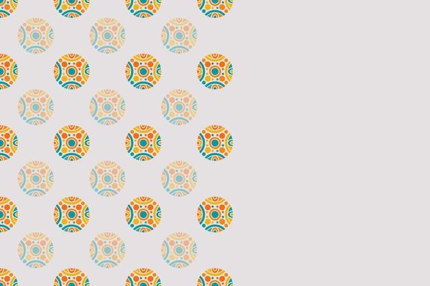 Nahtloses geometrisches buntes hintergrundmuster