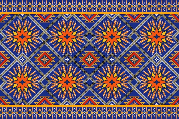 Nahtloses geometrisches ethnisches asiatisches orientalisches und traditionelles muster für textur und bachground