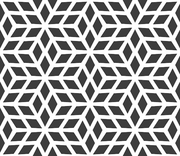 Nahtloses geometrisches muster aus diamanten.