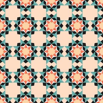 Nahtloses geometrisches muster für hochzeit